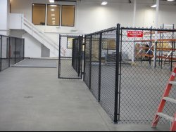 Chain link fencing by A-1 Fence Inc